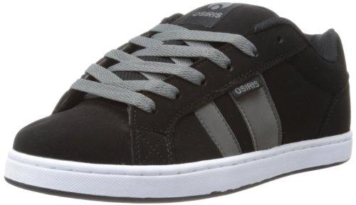 OSIRIS Loot-black/charcoal/white Men's Skate Shoes (47)