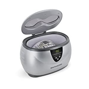 Magnasonic® MGUC500 Professional Ultrasonic Jewelry & Eyeglass Cleaner With Digital Timer