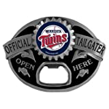 Minnesota Twins MLB Bottle Opener Tailgater Belt Buckle at Amazon.com