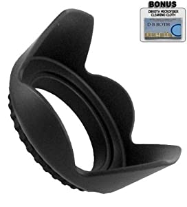 Pro Digital Hard Lens Hood For The Samsung NX1000, NX210, NX20 Digital Camera Which Has The (85mm, 18-200mm) Lens