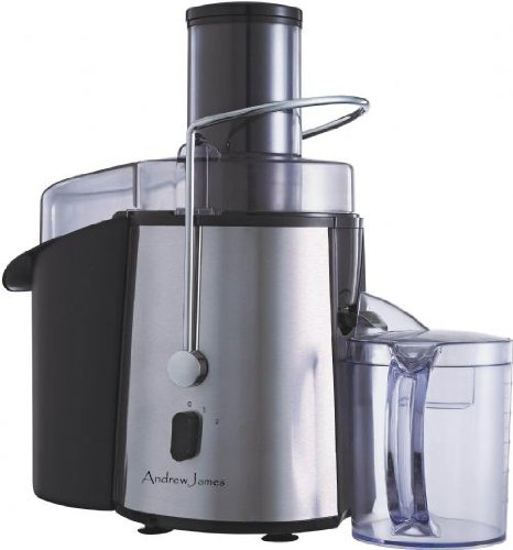 Andrew James Professional Whole Fruit Power Juicer 850 Watts With Juice Jug And Cleaning Brush by Andrew James