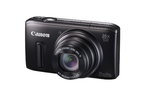 Camera 28mm Wide Angle  Zoom 1080p Stabilized Full  Sx260cmos Powershot Digital Lens Image Videoblack