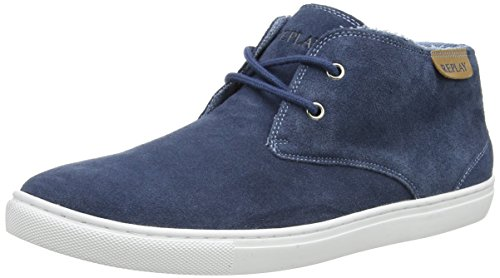 REPLAY Tarpon, Herren Sneakers, Blau (BLUE 10), 43 EU thumbnail
