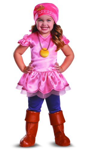 Disguise Girl's Disney Junior Jake and The Neverland Pirates Izzy Deluxe Costume, 4-6X