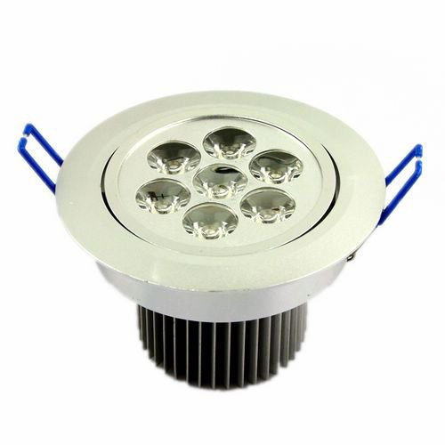 Po 7 Led Spotlight Ceiling Light Bulb Downlight Ac 110V 220V 230V Cool White 7W For Home
