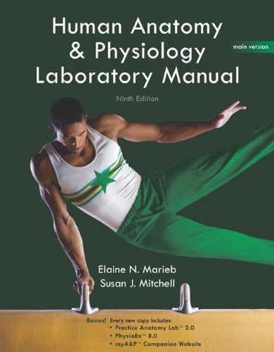 Human Anatomy & Physiology Lab Manual, Main Version...