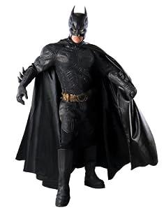 "Dark Knight Rises Costume, Mens Batman Grand Heritage Costume Style 3, Large, CHEST 42 - 44"", WAIST 34 - 36"", INSEAM 33"""