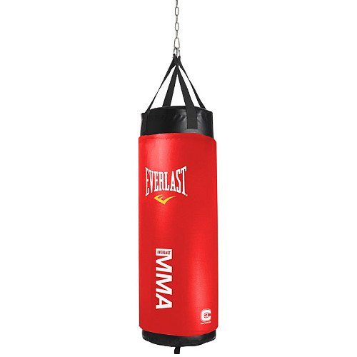 Everlast Mixed Martial Arts C3 Foam Heavy Bag (Red, 100-Pound)
