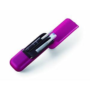 オムロン 音波電動歯ブラシ メディクリーンPORTABLE ピンク HT-B601-PK