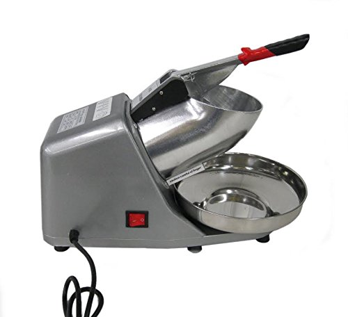 Take Ice Shaver Machine Ice Crusher Electric Snow Cone Maker Stainless Steel Shaving Ice-V001 discount