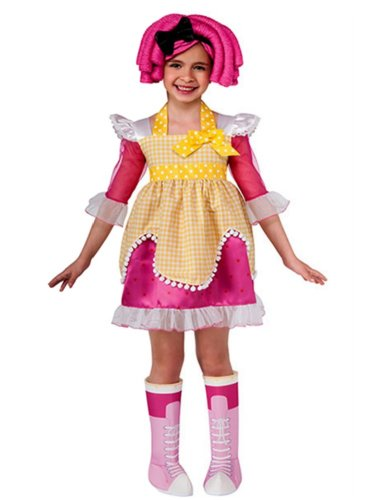 Rubie's Costume Co Baby-Girls Lalaloopsy Sugar Cookie Costume