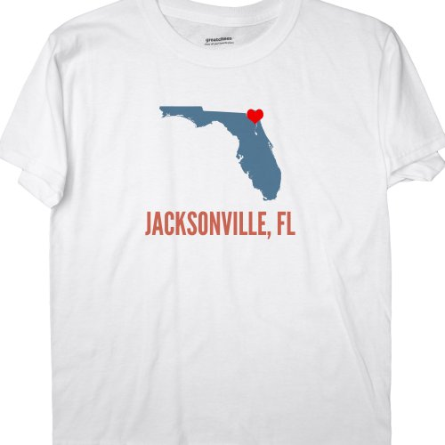 GreatCitees Unisex Jacksonville