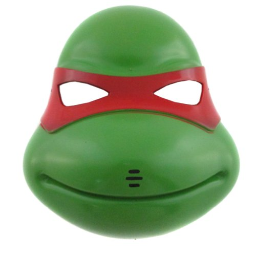 Green/Red Teenage Mutant Ninja Turtles Mask Party Fancy Dress