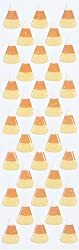 Martha Stewart Crafts Candy Corn Stickers