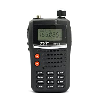Handheld VHF & 2 Meter Amateur Radio Tranceiver 5watt, TYT TH-F5 Ham Radio