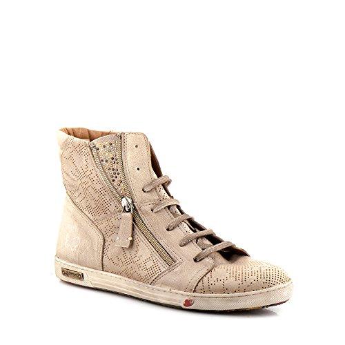 Felmini - Scarpe Donna - Innamorarsi com Jomar 9204 - Sneakers - Pelle Genuina - Marrone - 37 EU Size