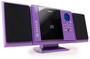 denver mcu 5210wh mini impianto stereo hi fi con lettore. Black Bedroom Furniture Sets. Home Design Ideas