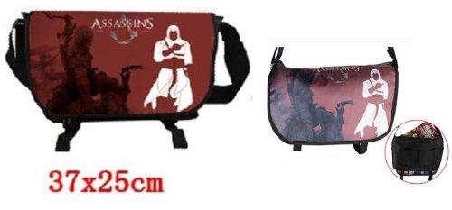Assassins Creed Game Canvas Shoulder Bag Messenger