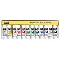 リキテックス スクールカラー レギュラータイプ 10ml 12色セット 伝統色 R1