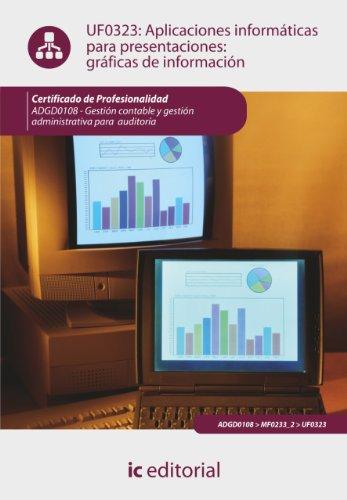 Aplicaciones Informáticas Para Presentaciones: Gráficas De Información. Adgd0108 (Spanish Edition)