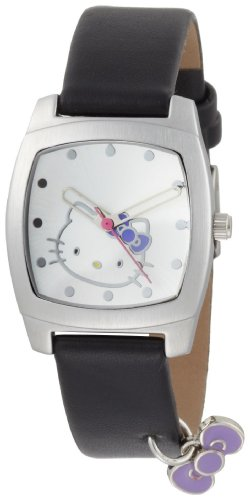 Hello Kitty Women's H3WL1005BK Silver Dial Watch