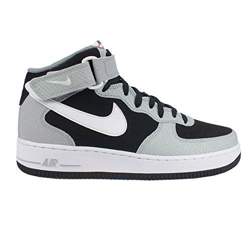 Nike Air Force 1 MID '07 Schuhe black-white-wolf grey-cool grey - 43