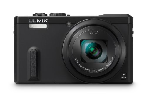 Panasonic DMC-ZS40K Digital Camera with 3-Inch LCD (Black)