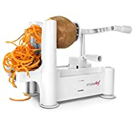 Simple Chef� Vegetable Spiralizer – B…
