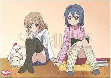 ゆるゆり さん☆ハイ! 向日葵&櫻子 クリアポスター