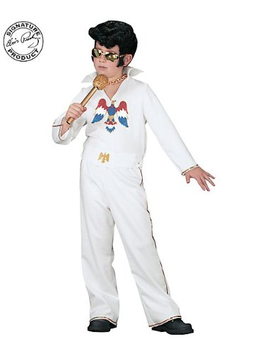 WMU Elvis Child White Jumpsuit Small