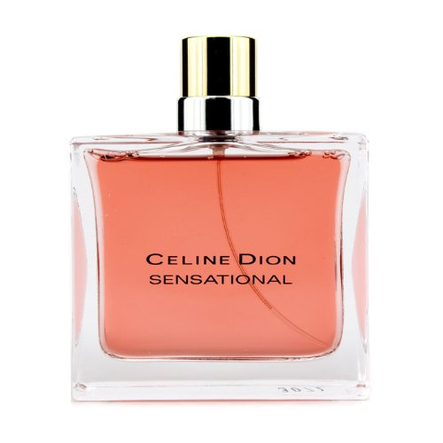 Celine Dion Sensational Eau De Toilette Spray (10 anni Anniversary Edition) 100 ml/3,4 OZ - donna di profumo