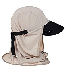 SunWay Mens Women Legionnaire Cap / Hat UV Sun Protection UPF 50+ (beige)