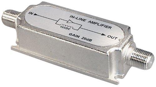 Transmedia FP6iL amplificateur d'antenne (15 ± 3V, 450-2400MHz, gain de 20dB)