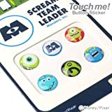 Touch me! ディズニー Diseny キャラクター ホームボタン タッチボタン ステッカー シール for iPhone5 iPhone4s iPod iPad iPhone 対応 モンスターズ・インク
