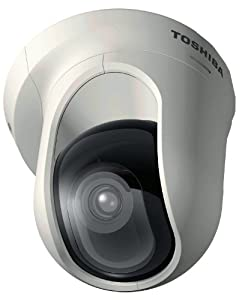 Toshiba IK-WB16A 2 Mega Pixel IP/Network Camera with PTZ, PoE, 3.6mm Lens, 1600x1200 Resolution and Free Recording Software