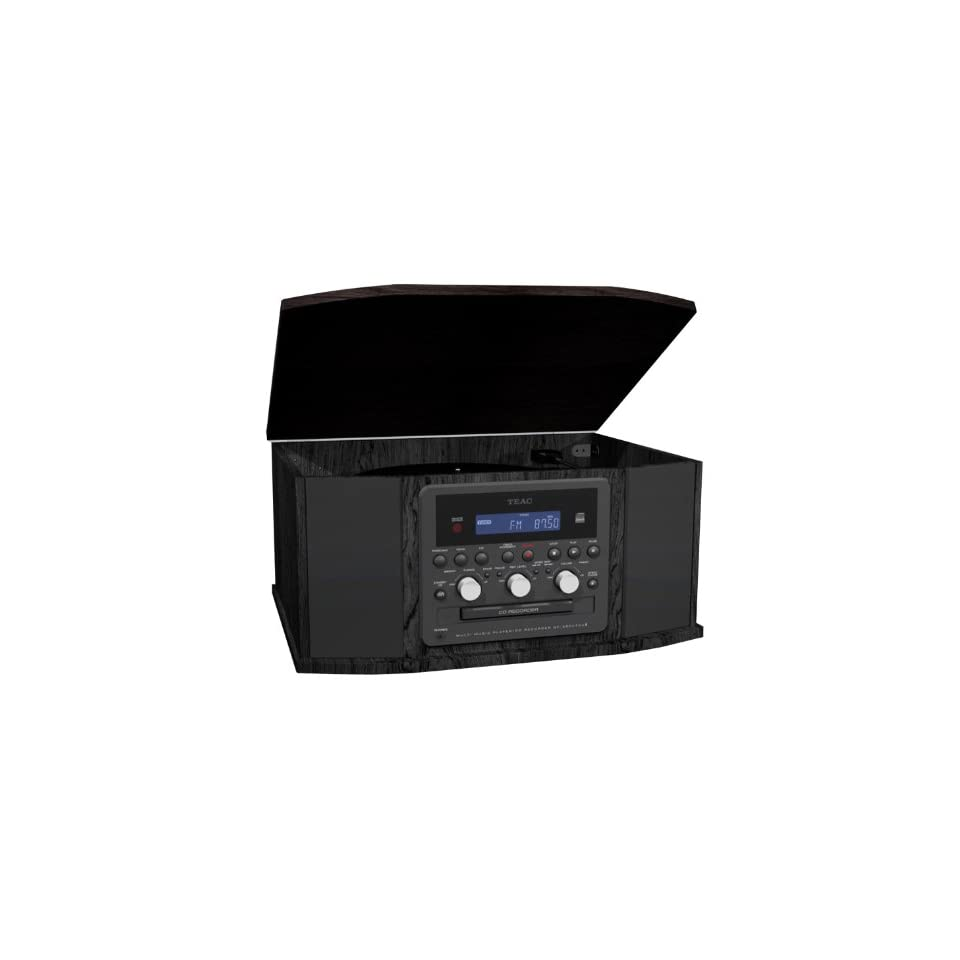 TEAC GF 550 Turntable with Cassette, Radio and CD Recorder (Discontinued by Manufacturer) Electronics