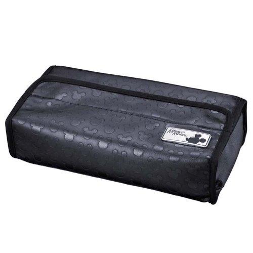 napolex-scatola-in-tessuto-motivo-topolino-disney-con-supporto-per-auto-colore-nero-wd-205-japan