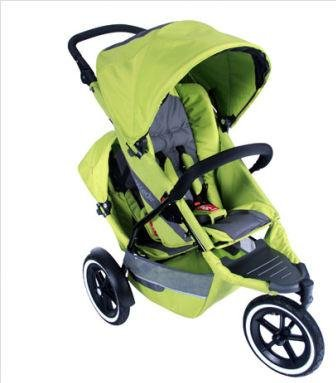 Phil and Teds Explorer Stroller with Doubles Kit in All Apple