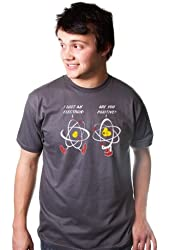 I LOST AN ELECTRON ARE YOU POSITIVE TSHIRT Funny Humor Science TEE Geek Nerd ive