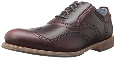 Caterpillar Men's Dougald Oxford,Oxblood,7 M US