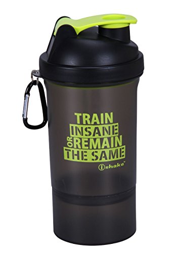Ishake 020 Green Soot Shaker Bottle (Green)
