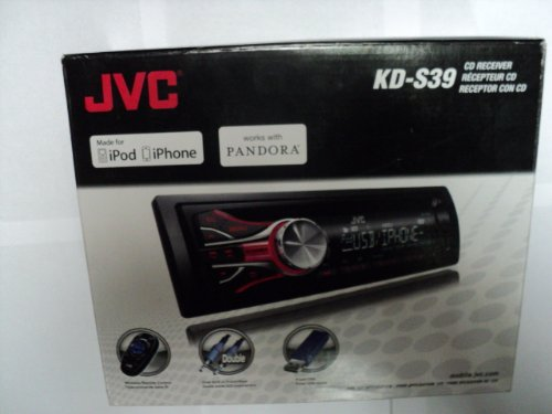 Jvc Kds39 Usb/Cd Receiver With Dual Auxiliary Ports And Iphone/Ipod Control