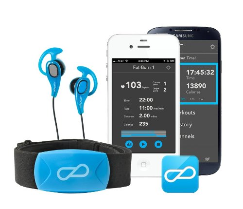 Pear Sports Mobile Training Intelligence System For Iphone 4S, Iphone 5, Iphone 5S, Iphone 5C, And Android Devices Running Os 4.3 And Higher With Bluetooth 4.0