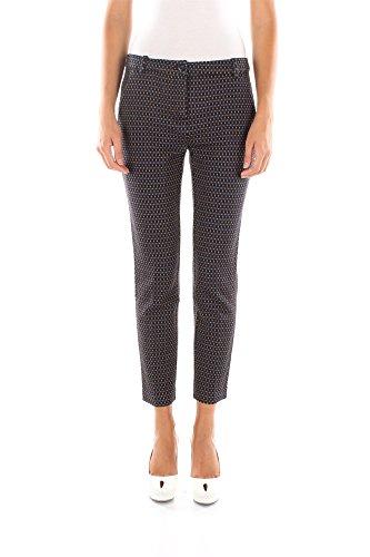 Pantaloni Pinko Donna Lana Blu e Senape 1N11CJ5951EL8 Blu 46
