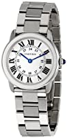 Cartier Women's W6701004 Rondo Solo Stainless Steel Bracelet Watch from Cornerwind Media