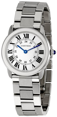 Cartier Women's W6701004 Rondo Solo Stainless Steel Bracelet Watch