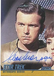 Star Trek TOS Heroes & Villains A258 Autograph Card Sean Morgan