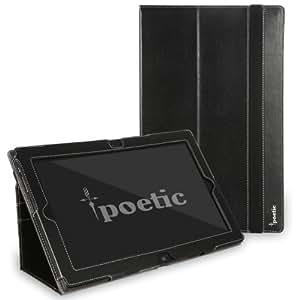 Poetic Slimbook Case for Lenovo IdeaTab Lynx K3 / K3011 11.6 Inch Tablet Black (3 Year Manufacturer Warranty From Poetic)