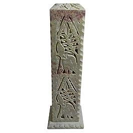 Porta inciensos esteatita 28 cm elefante incienso titular