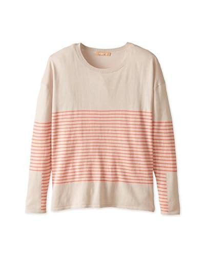 Kier & J Women's Striped Sweater